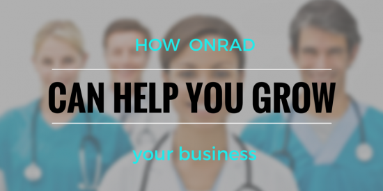 How Onrad helps grow radiology business
